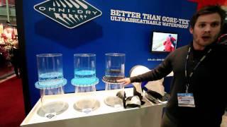 Columbia Sportswear | Waterproof Breathable Materials | Outdoor Retailer 2011