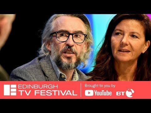 In Conversation: Steve Coogan & Christine Langan  Edinburgh TV Festival 2018