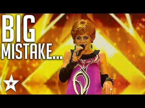 BIGGEST MISTAKE on Ireland&39;s Got Talent  Got Talent Global