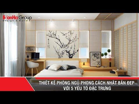 Thiết kế phòng ngủ phong cách Nhật Bản đẹp với 5 yếu tố đặc trưng