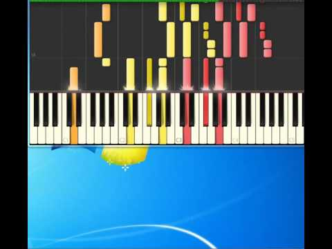 Manic Monday  Bangles [Piano tutorial by Synthesia]