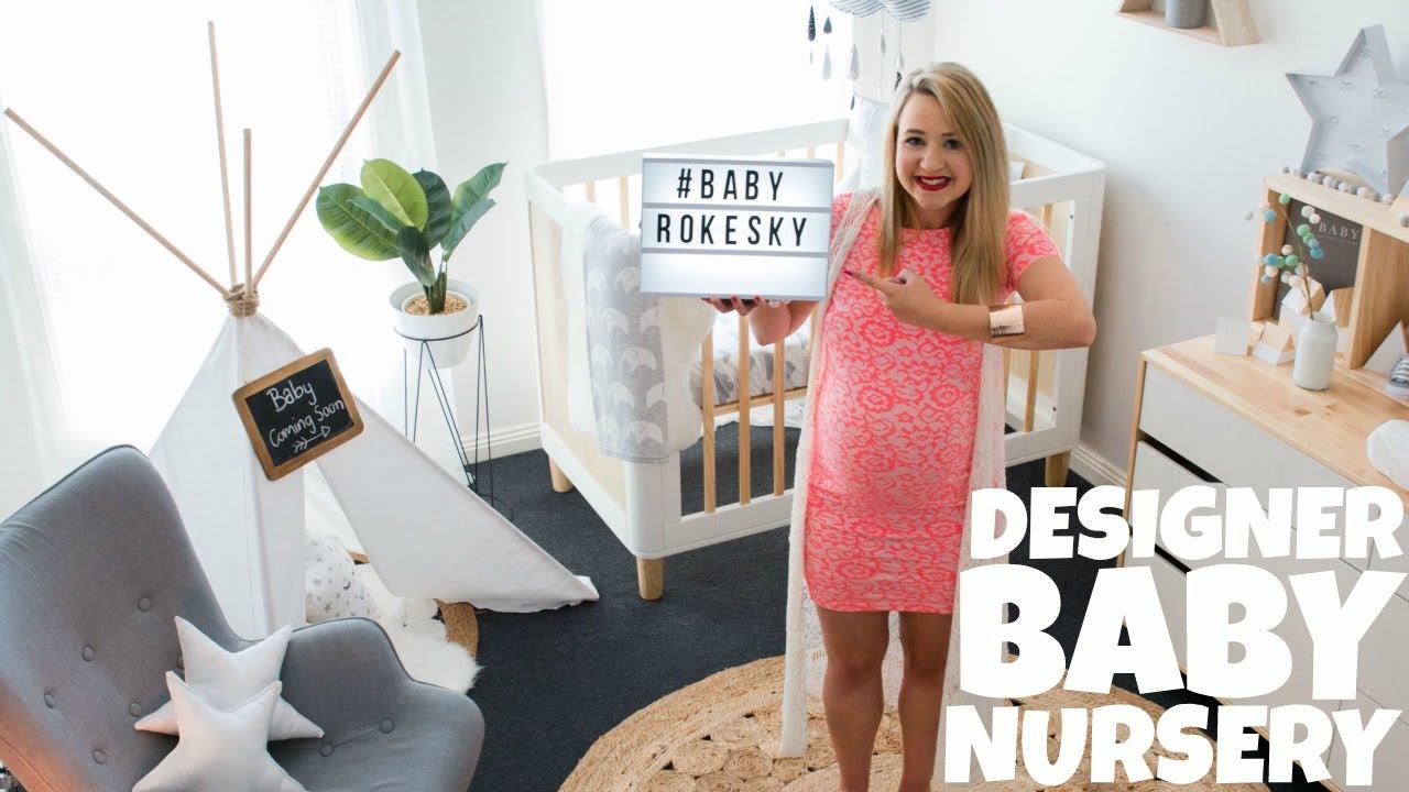 Designer Nursery Tour Aussie Family Vloggers You
