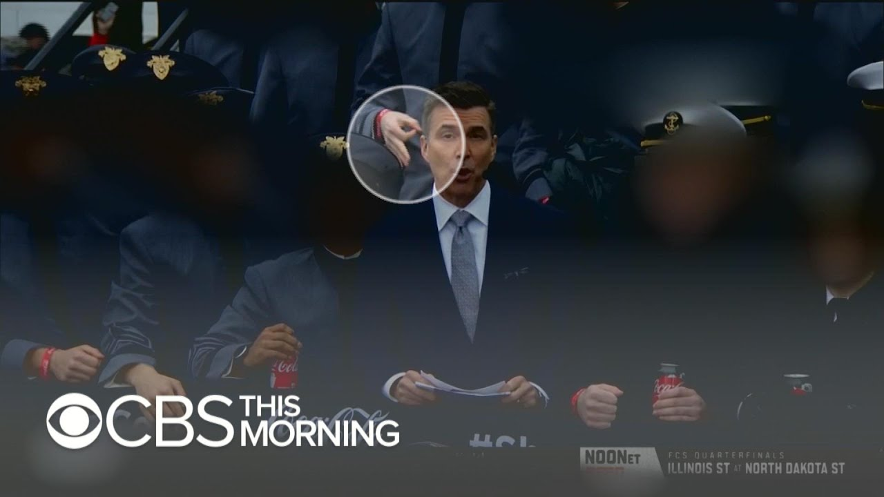 Investigations underway into cadets use of white power sign on live TV