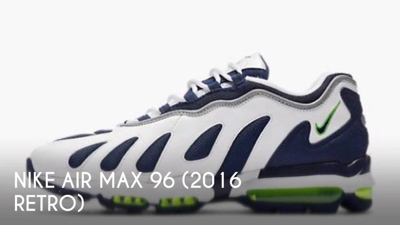 NIKE AIR MAX 96 (2016 RETRO)   PEACE X9 - YouTube 8a5d9d419