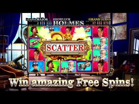 Can You Detect The Mega Jackpot And Free Spins? Showluck Holmes By Gambino Slots Reveals All Bonuses