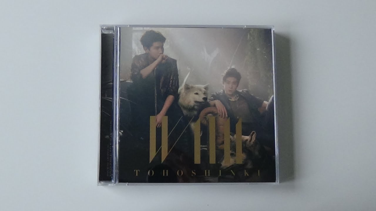 Unboxing TVXQ! 東方神起 8th Japanese Studio Album WITH [Limited Type A CD+DVD  Edition]