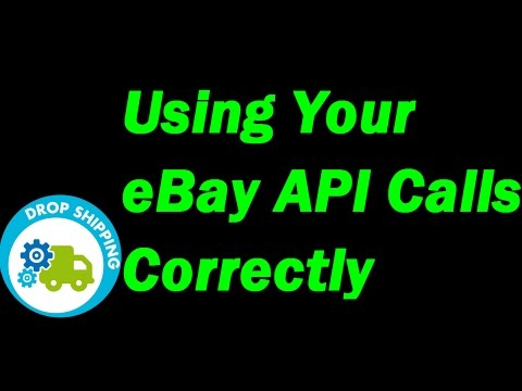 DsGenie Training - Using Your Ebay API Calls Correctly