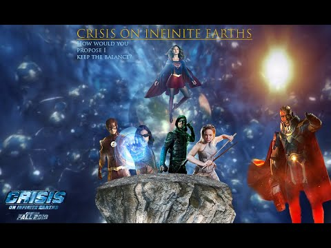 Crisis on infinite earths- cw fan made trailer