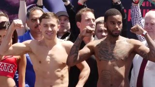Gennady Golovkin-Dominic Wade Weigh-in