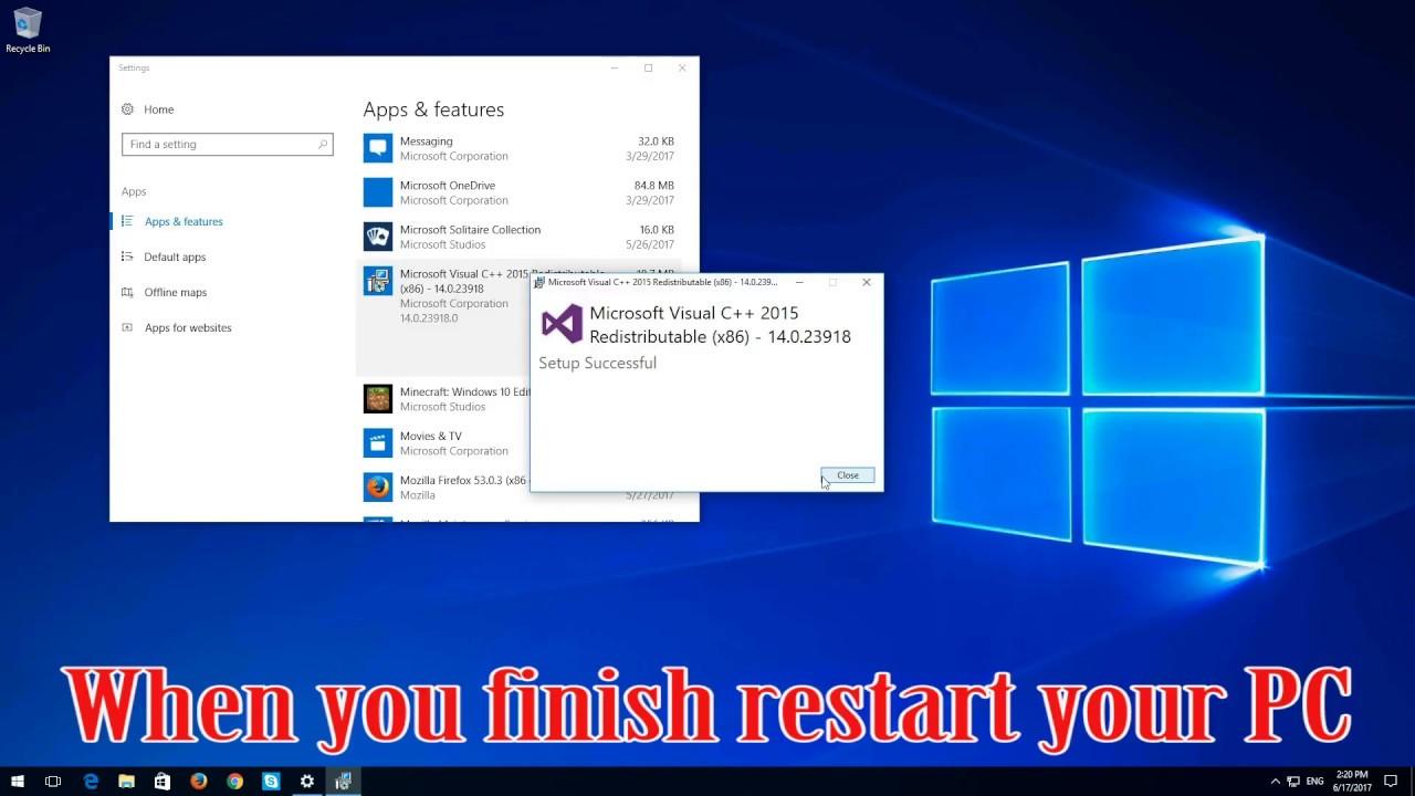 api-ms-win-crt-heap-l1-1-0.dll missing windows 8.1