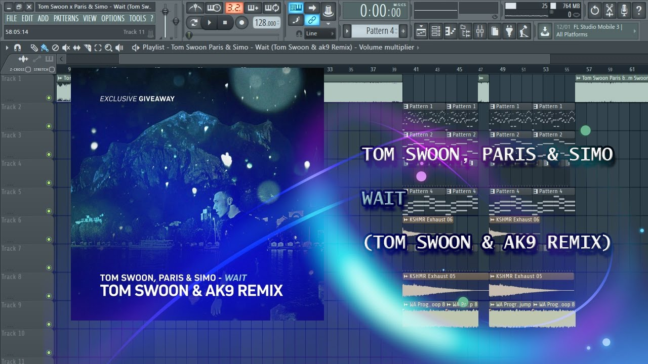 Tom Swoon, Paris & Simo - Wait (Tom Swoon & ak9 Remix ...
