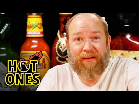 Kyle Kinane Gets Angry Eating Spicy Wings | Hot Ones