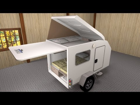 Conhecendo O Mini Trailer Thaura Da Victória Motor Homes