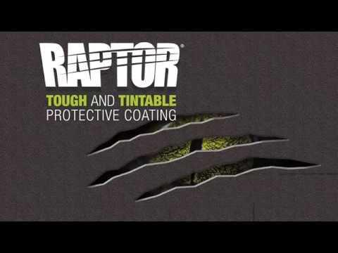 RAPTOR - Revetement de Protection NOIR
