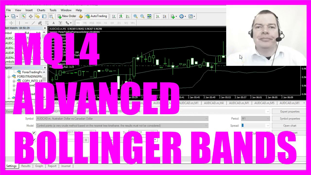 Mql4 Tutorial Advanced Bollinger Bands Expert Advisor Youtube