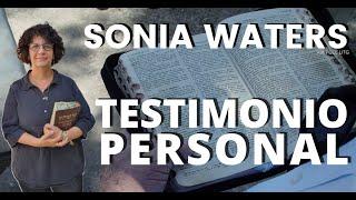 SONIA WATERS - TESTIMONIO PERSONAL #soniawaters #israel #judiosmesianicos #profeciasbiblicas