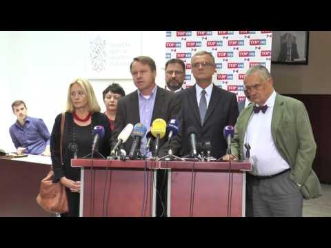 Bursík: Nechceme tříštit demokratické síly, podpoříme TOP 09