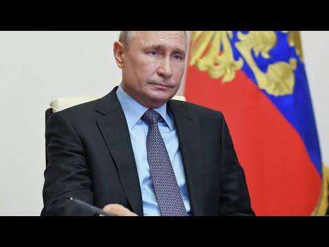 Совещание Владимира Путина по коронавирусу