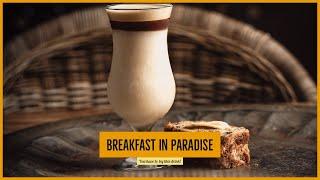 Breakfast in Paradise - Delicious Banana and Coffee Daiquiri riff!