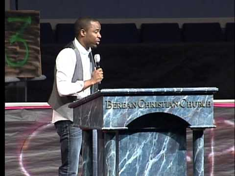 Darrell Hall preaching at Berean Christian Church's TakeOva Youth Conference 2013