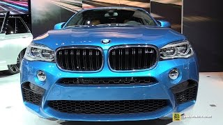 2015 BMW X6 M - Exterior and Interior Walkaround - Debut at 2014 LA Auto Show