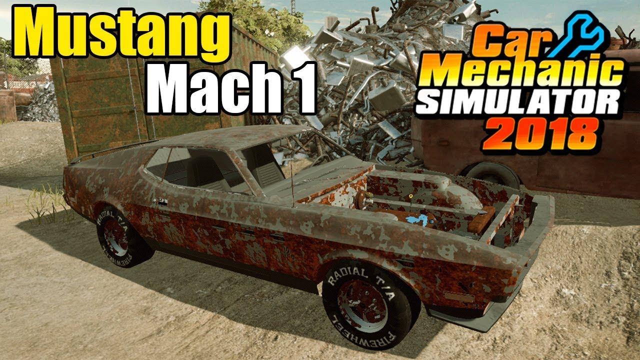 New Ford Dlc Car Mechanic Simulator 2018 Gameplay Youtube