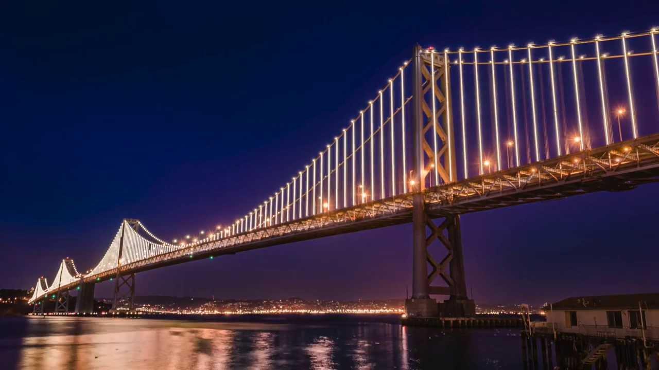 Bay Bridge San Francisco Time Lapse - YouTube