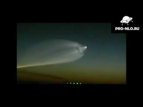 Необычное НЛО в Китае