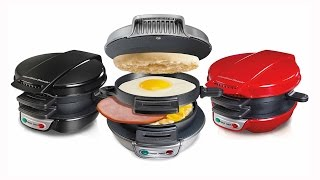 Hamilton Beach Breakfast Sandwich Maker - As Seen On TV