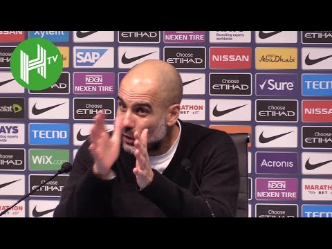 Man City 2-3 Crystal Palace | Pep Guardiola: Usually you say I'm a genius - but not today!
