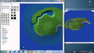 Minecraft 1.7.2 | How To Make A Survival Island! (World Painter + World Edit)