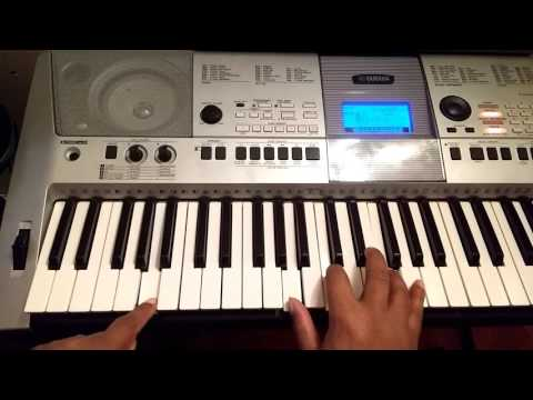 Chords for How to play Fill Me Up by Casey J on piano