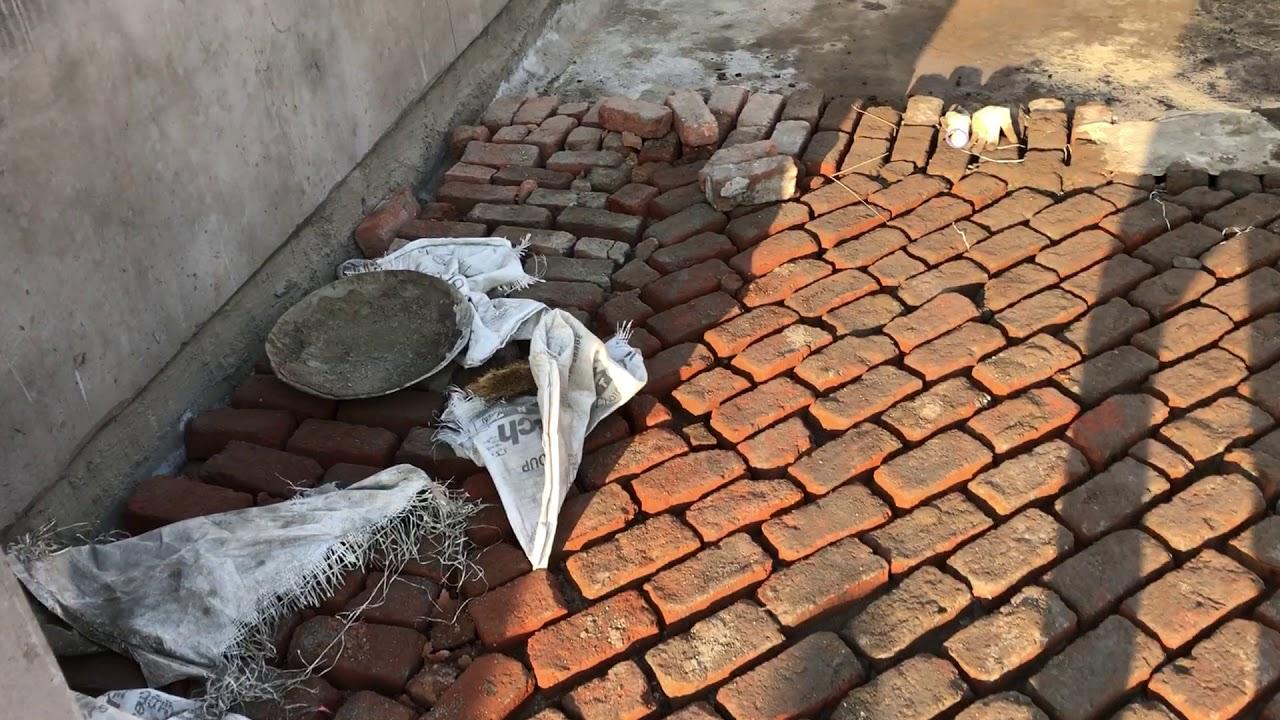 How To Do Brick Bat Coba Terrace Waterproofing Mk Mohammad Khaza Zabivulla