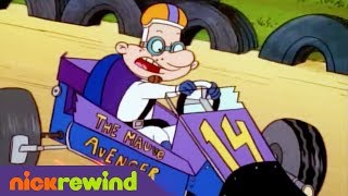 Arnold and eugene ride in the go-kart race | hey arnold! | the splat