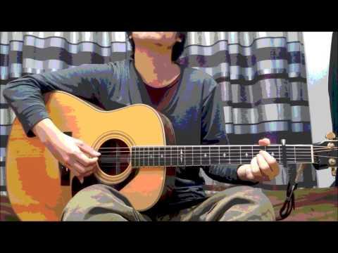 【美麗アコギ】秦基博「言ノ葉」を熱くギター弾き語りしてみ ...