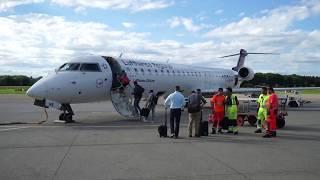 TRIP REPORT | Lufthansa | CRJ900-A319 | Friedrichshafen - Hamburg (FDH-FRA-HAM) | Economy Class