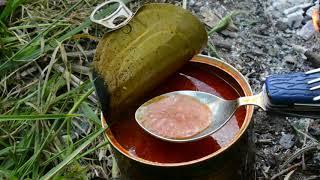 Обзор консервированного супа Харчо от Готовые блюда.