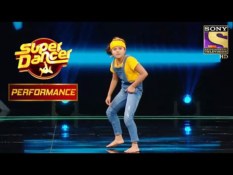 "Subhopriya's Killer Dance Performance On ""Dangal"" | Super Dancer Chapter 3"