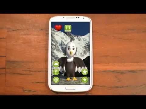 Talking Baby Eagle - Talking App For Kids