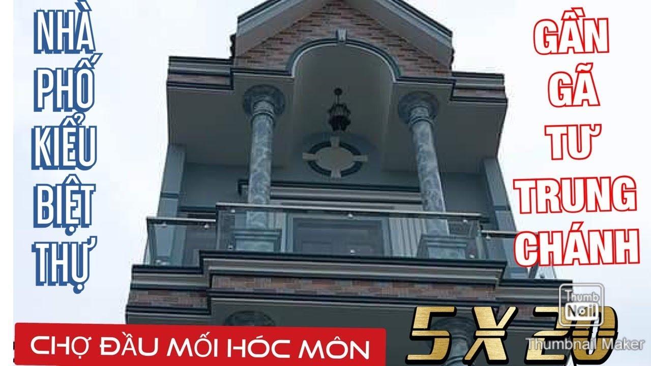 image Kẹt tiền Bán Nhà Đất Hóc Môn ✅ Bán Nhà kiểu biệt thự phố 5 ×20 mgần Chợ đầu mối nông sản Hóc Môn