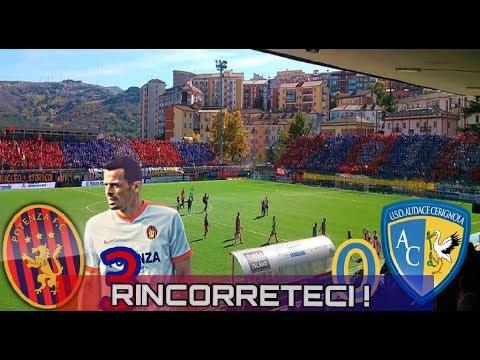 REACTION ALLO STADIO POTENZA 3-0 CERIGNOLA   P4ul & LoLLo
