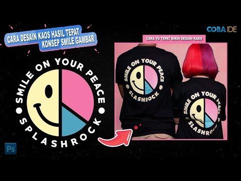 Cara Membuat Desain Kaos di Photoshop - Desain Kaos untuk Clothing Distro.