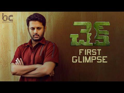 Check Telugu Movie First Glimpse | Nithiin | Rakul Preet | Priya Varrier | Chandra Sekhar Yeleti