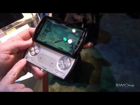 Sony Ericsson Xperia Play Hands On - CTIA 2011 - BWOne.com