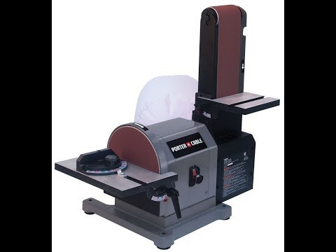 Porter cable belt/disc sander