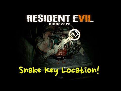 Snake Key Location - Resident Evil 7 (RE7)