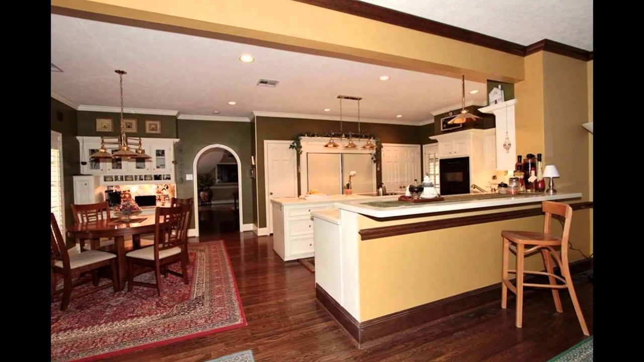 Open Concept Kitchen And Family Room Designs Plans Ideas Pictures   YouTube