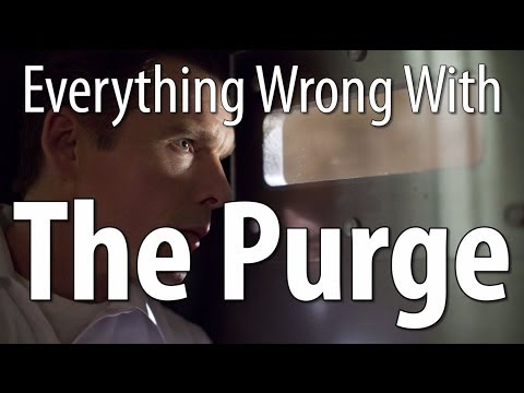 Everything Wrong With The Purge In 13 Minutes Or Less fragman