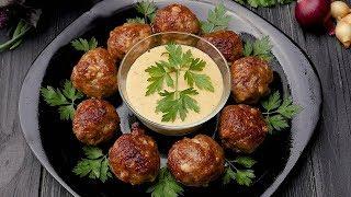 Мясные шарики с орехами - Рецепты от Со Вкусом
