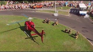 Drone Fly-by - Surprise Hostage Rescue Scenario